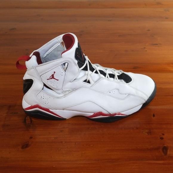 promo code 6f82b a27ca Jordan Other - 2008 Nike Jordan True Flight White Varsity Red.